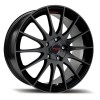 FOX FX004 RACING BLACK 6.5x15.0 - 4x100.00 - et38